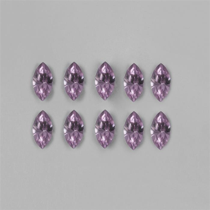 Light Amethyst Swarovski Navette 4228 - 10x5mm, 12pk