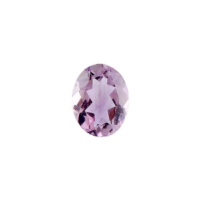 1.20cts Brazilian Amethyst Brilliant Cut Oval 9x7mm.