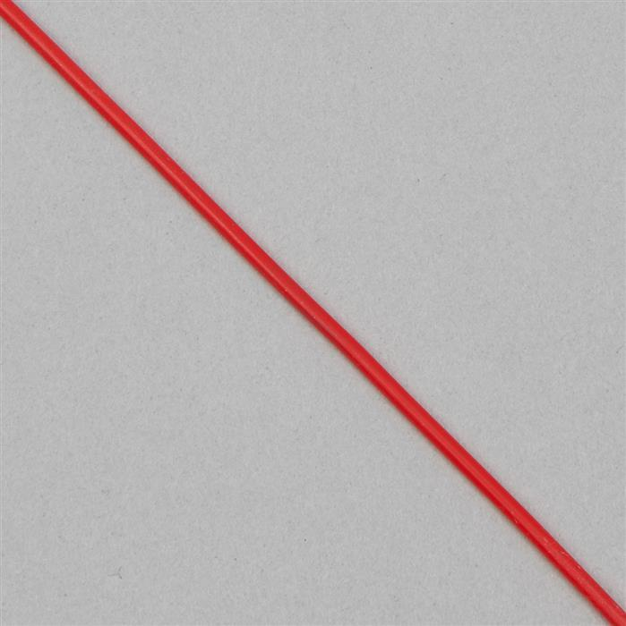 10m Cherry Red Buna Cord Approx 2mm