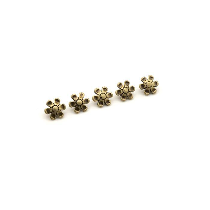 Cymbal Gerani 11/0 Bead Sub Antique Brass Plated (5pk)