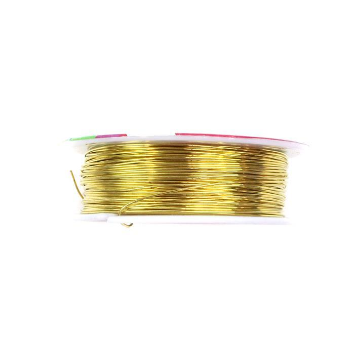 50m Gold Plated Copper Wire  0.8mm