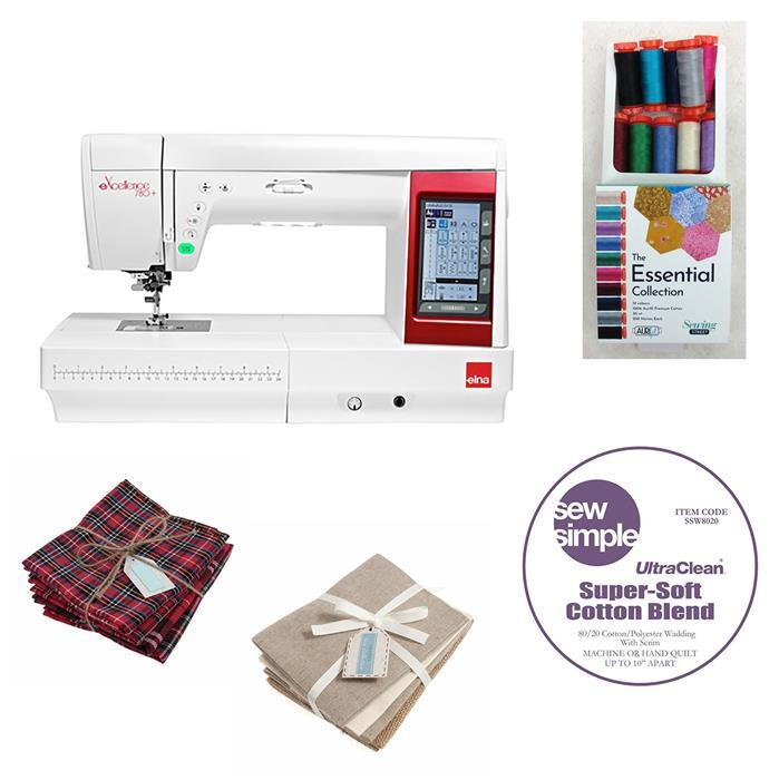 Elna 780+ Sewing Machine Deal. Save over £93. Limited Offer