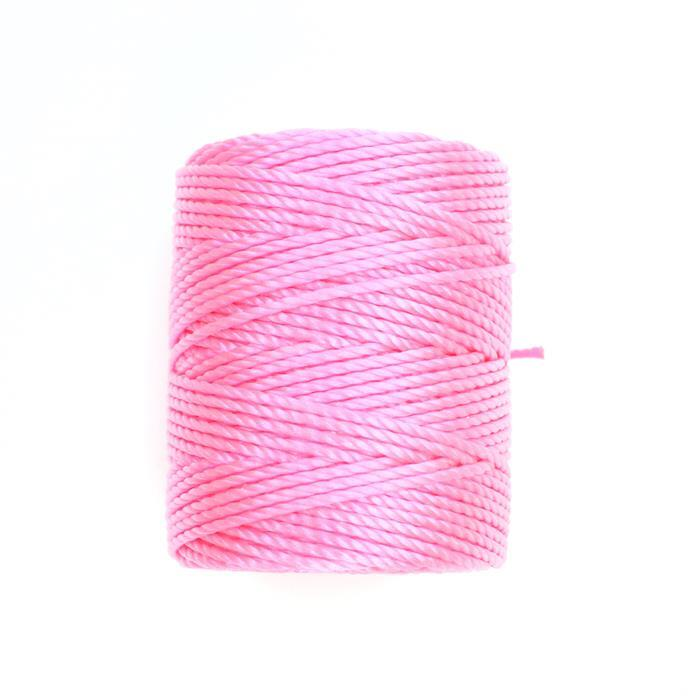 32m Neon Pink Nylon Cord Approx 0.9mm