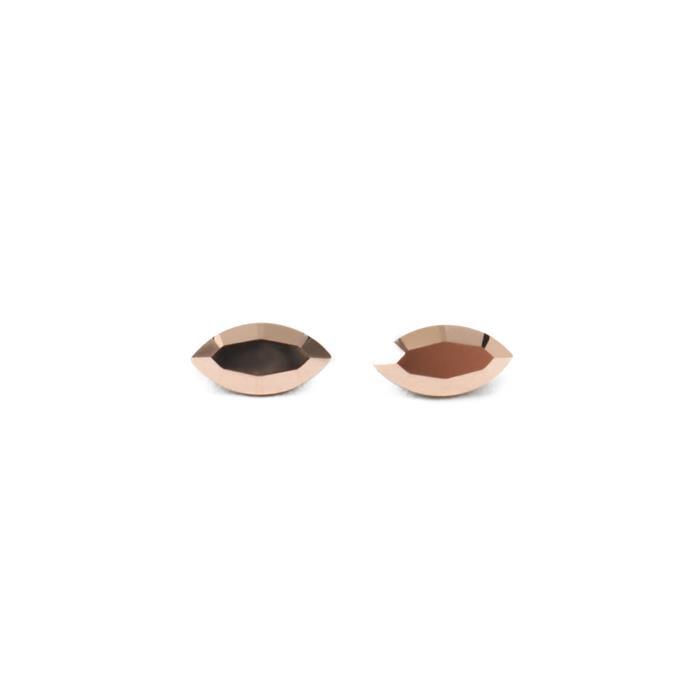 Swarovski Xilion Navette Fancy Stones 4228 Crystal Rose Gold F 8x4mm - 2pk