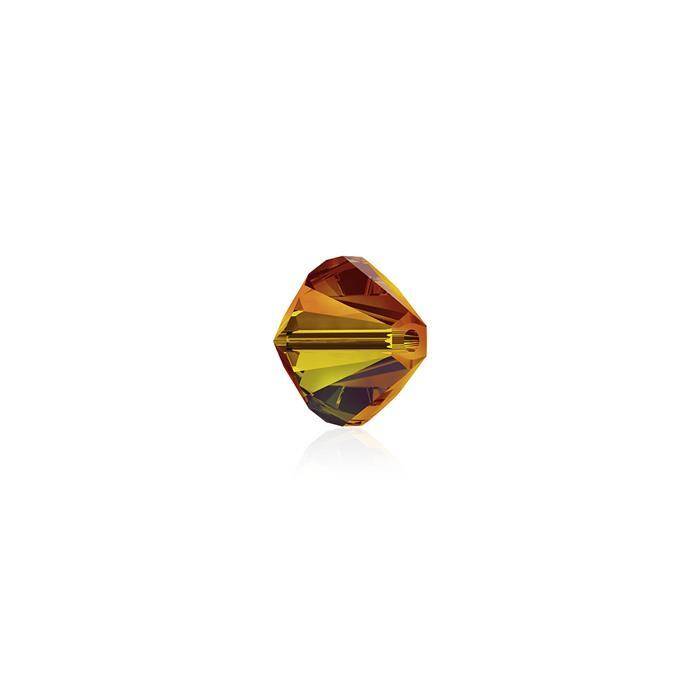 Swarovski Crystal Beads - Pack of 24 Bicone 5328 - 4mm Fireopal