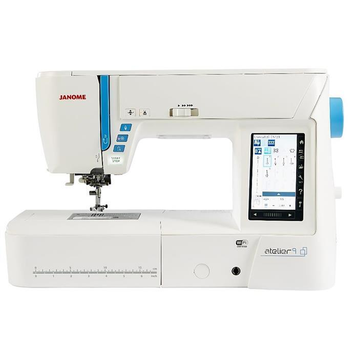 Janome Atelier 9 Sewing and Embroidery Machine + V5 Junior Digitiser