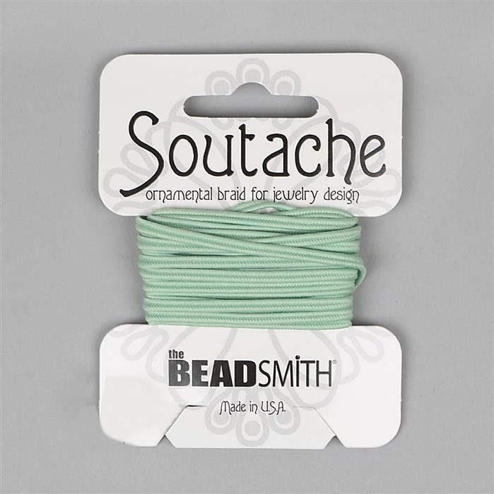 Polyester Soutache Mint 3 Yards 3mm