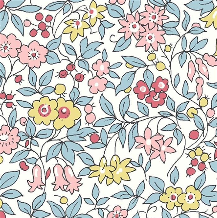 Liberty Forget Me Not Blossom Flowers Fabric from Flower Show Spring Range 0.5m