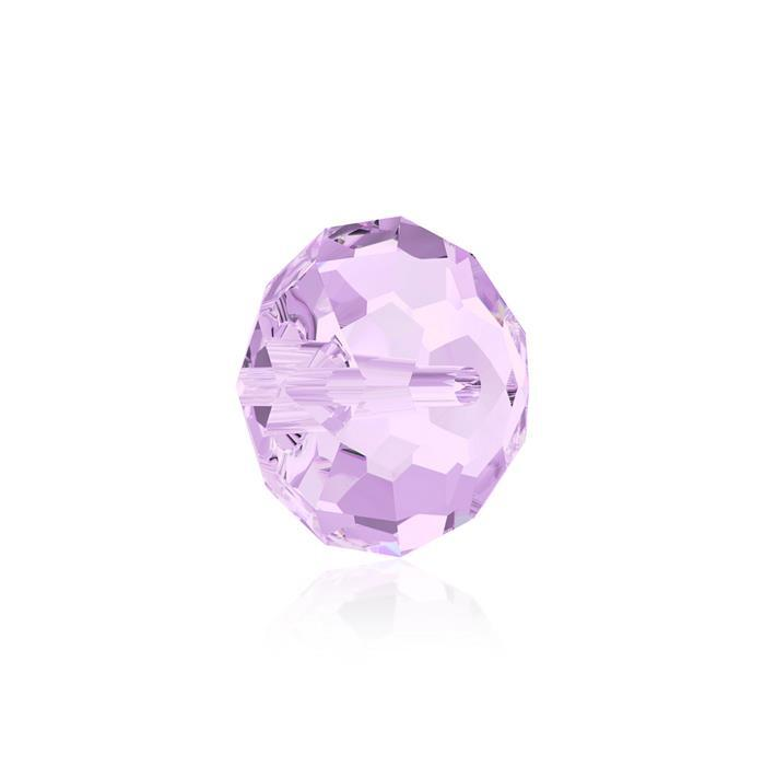 Swarovski Crystal Beads - Pack of 6 Briolette 5040 - 8mm Violet