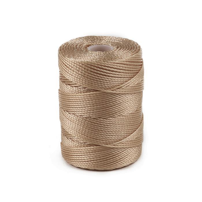 70m Light Brown Nylon Cord 0.4mm