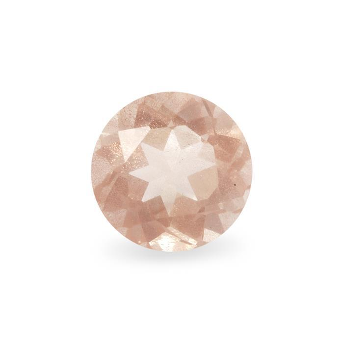 0.65cts Oregon Sunstone Round Approx 6x6mm