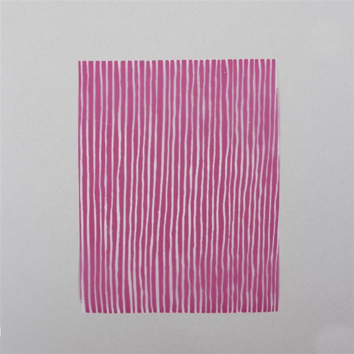 Silk Screen - Irregular Lines Approx 4x5