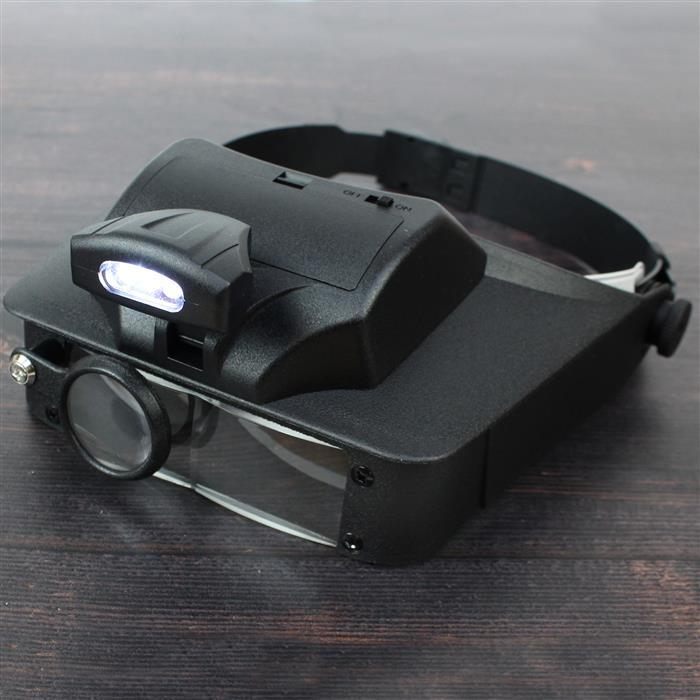 Carson Lumivisor- Visor Magnifier with 2x,3x,5x,6x Magnification