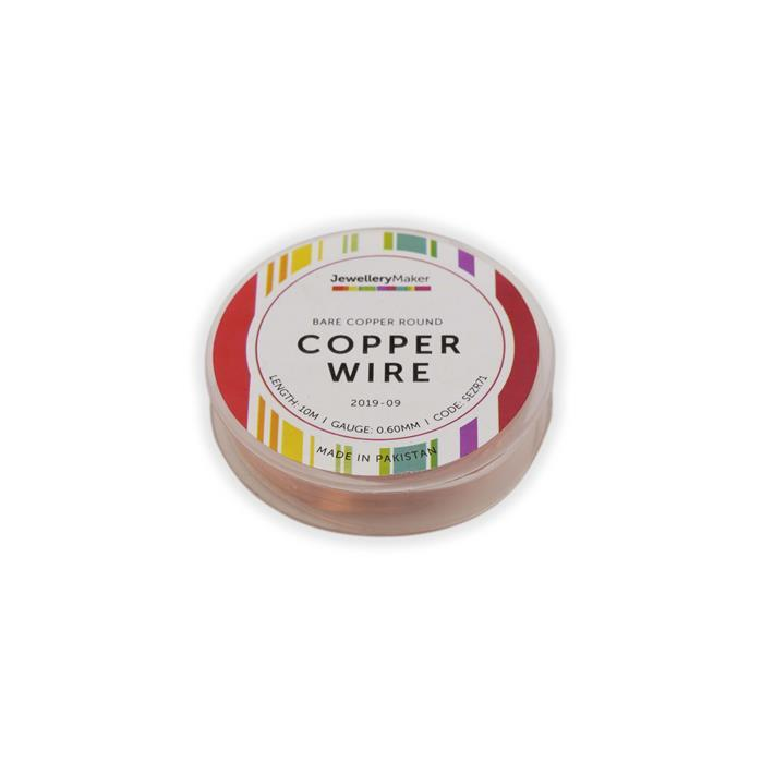 10m Bare Copper Wire, 0.6mm