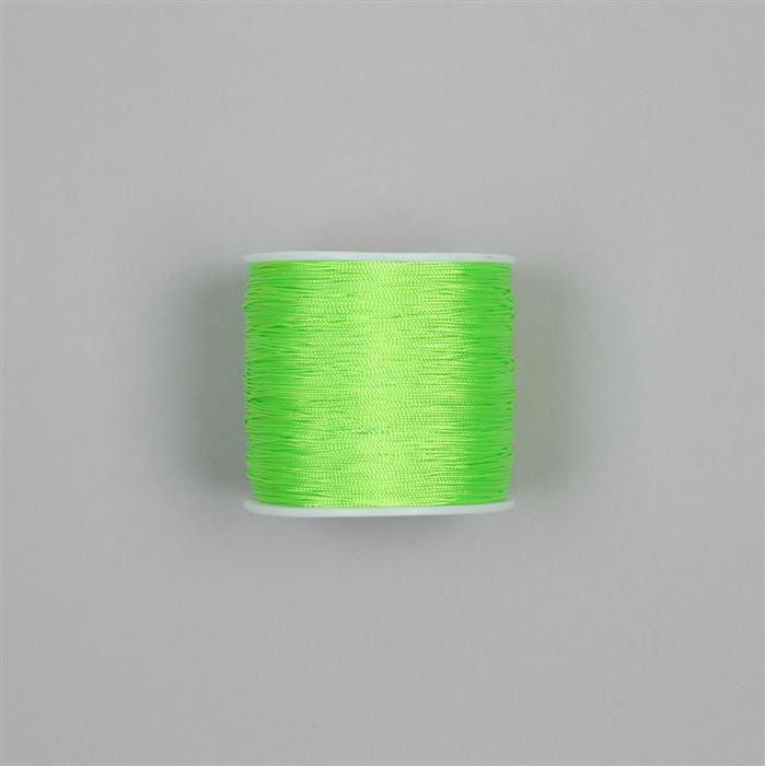 200m Neon Lime Green Nylon Thread Approx 0.5mm