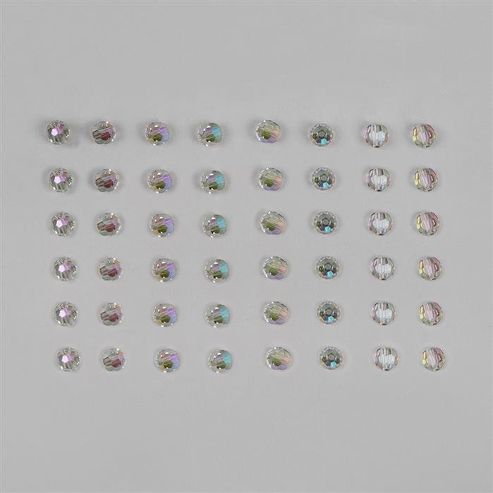 Swarovski Crystal Paradise Shine Faceted Round Beads 6mm - 48pk