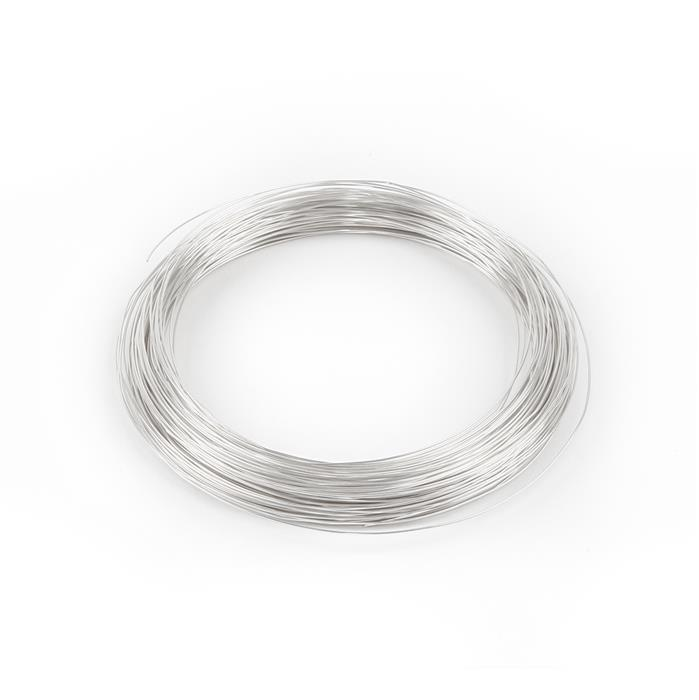 Silver Plated Copper Wire - 0.4mm (20m)
