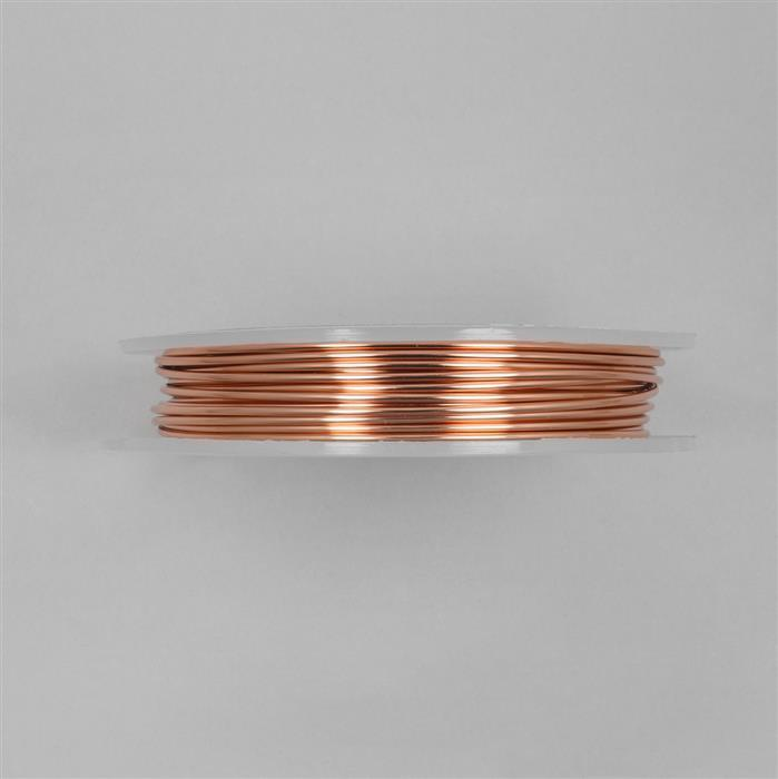 10m Copper Round Wire 1.50mm