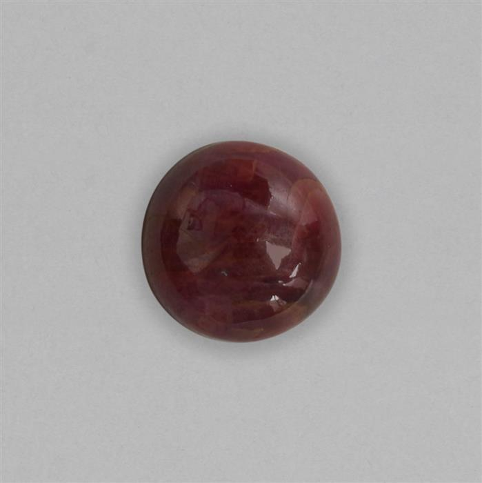12cts Ruby Round Cabochon Approx 15mm.