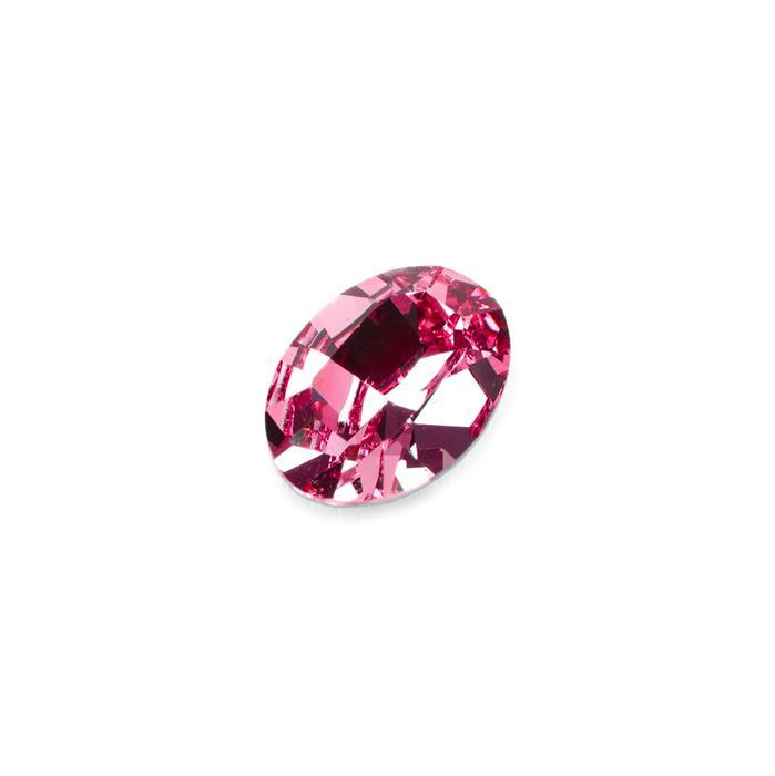 Swarovski Xilion Oval Dentelle Fancy Stone 4128 Rose F 14x10mm 1pk