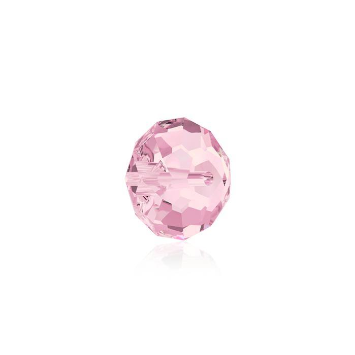 Swarovski Crystal Beads - Pack of 12 Briolette 5040 - 6mm Light Rose
