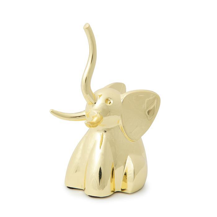 Umbra Zoola Brass Elephant Ring Holder Approx 75 x 45 mm
