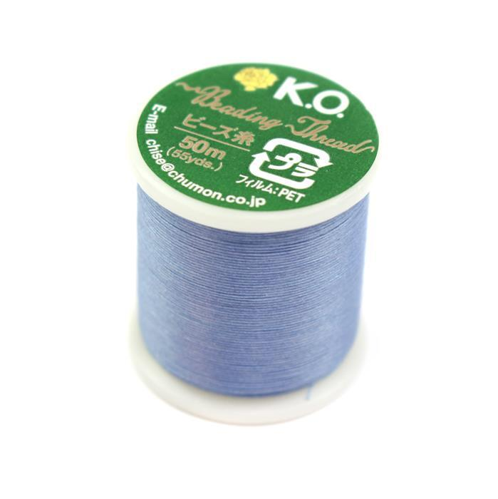 KO Beading Thread Light Blue Approx 50m