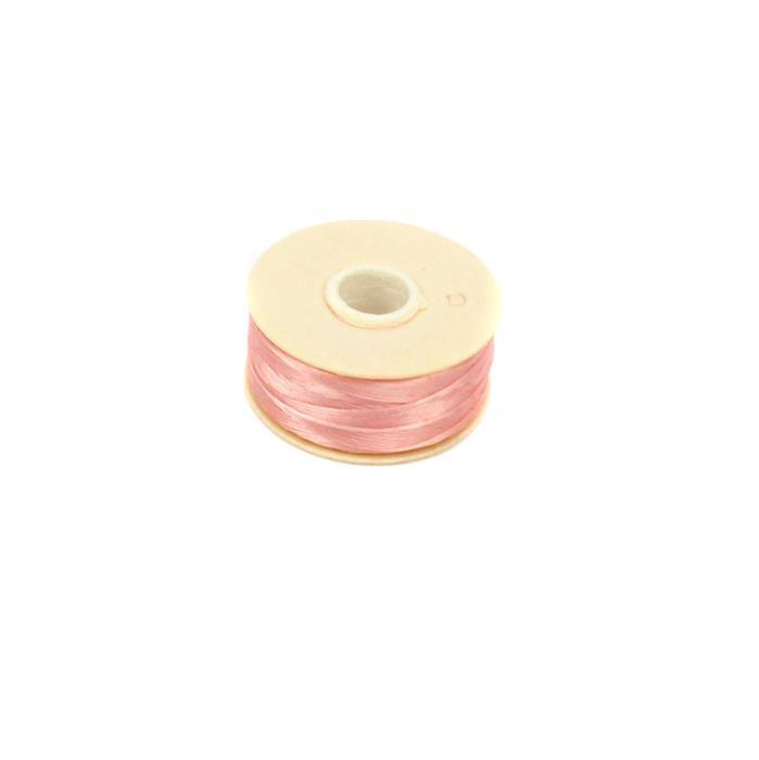 Pink Nymo Thread Size B, 72 yards