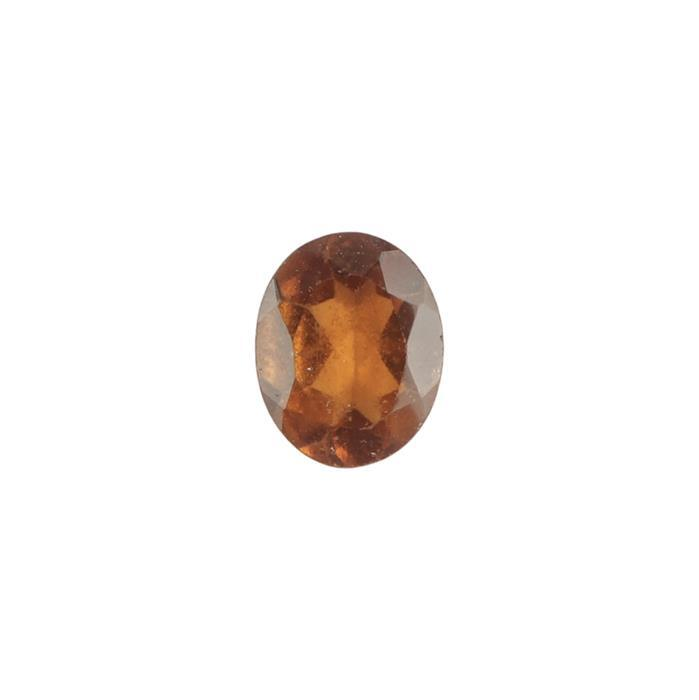 1.7cts Hessonite Garnet Brilliant Cut Oval Approx 9x7mm.
