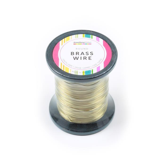 200m Brass Wire 1.00mm