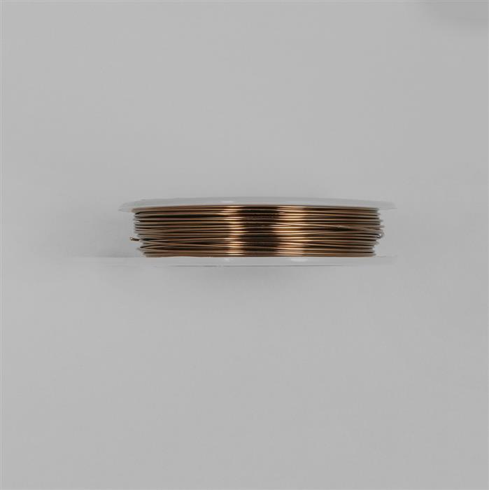 10m Antique Bronze Copper Wire Approx 0.60mm