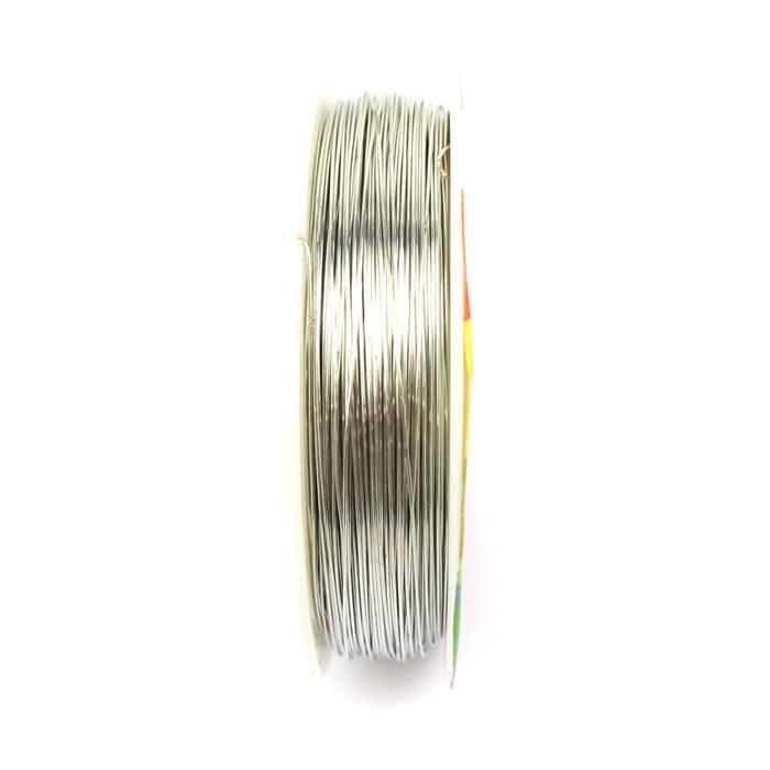 50m Silver Plated Copper Wire 0.4mm