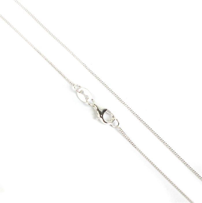 925 Sterling Silver Curb Chain 50cm/20