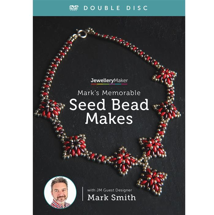 Marks Memorable Seed Bead Makes! Double Disc DVD