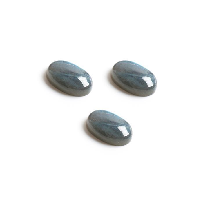 40cts Labradorite Oval Cabochons Approx 21x14mm. (Pack of 3)