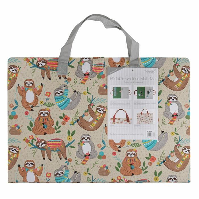 Quilters Sloth Design A3 Ironing and Cutting Multi-Mat