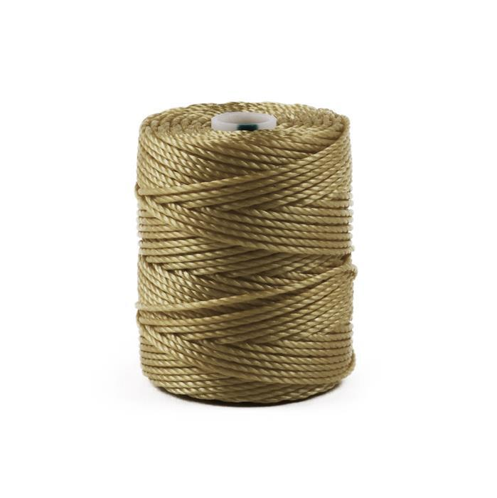 32m Light Khaki S-Lon Cord Approx 0.9mm