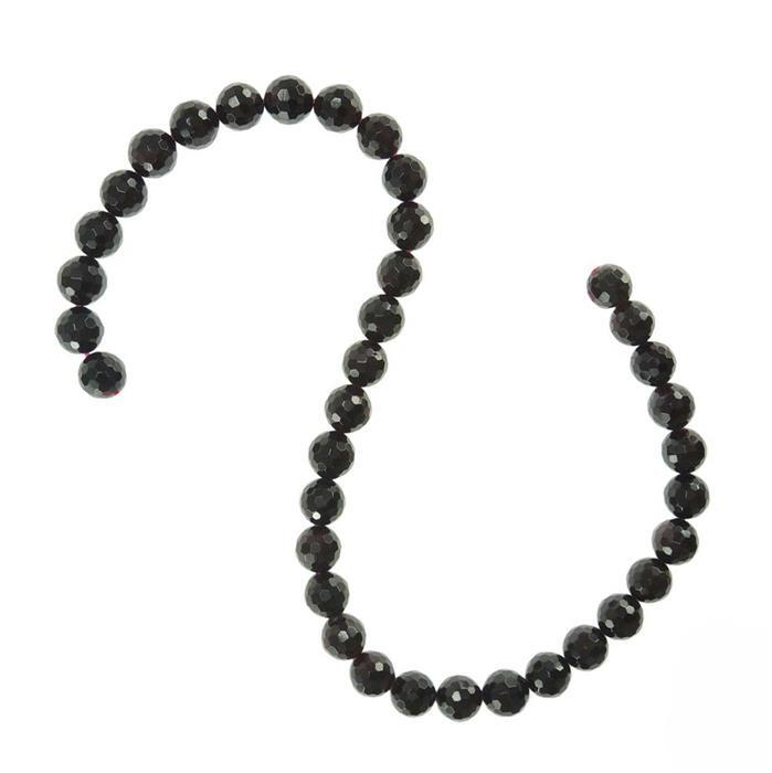 360cts Garnet Faceted Rounds Approx 10mm
