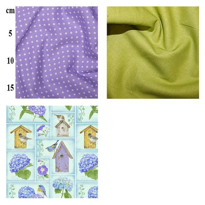 Early Bird Special - Henry Glass's Small Blocks Fabric Bundle (1.5m). Save £3