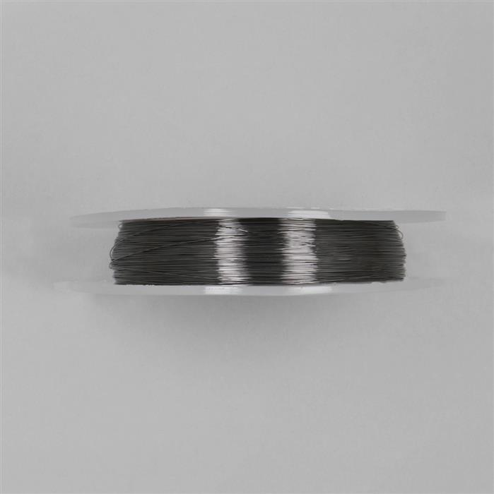 100m Gunmetal Coloured Copper Wire Approx 0.25mm