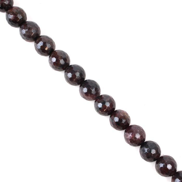 480cts Red Garnet Faceted Rounds Approx 11mm, 37cm