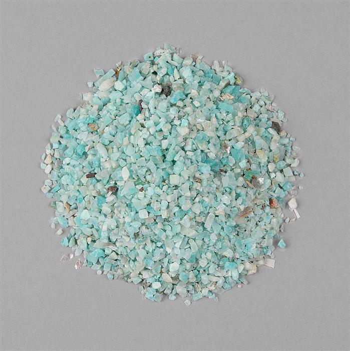 140cts Amazonite Rough Granules.