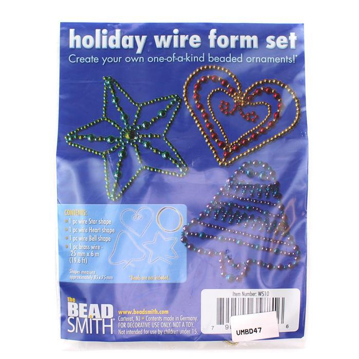 Holiday Wire Forms Set (3pcs)