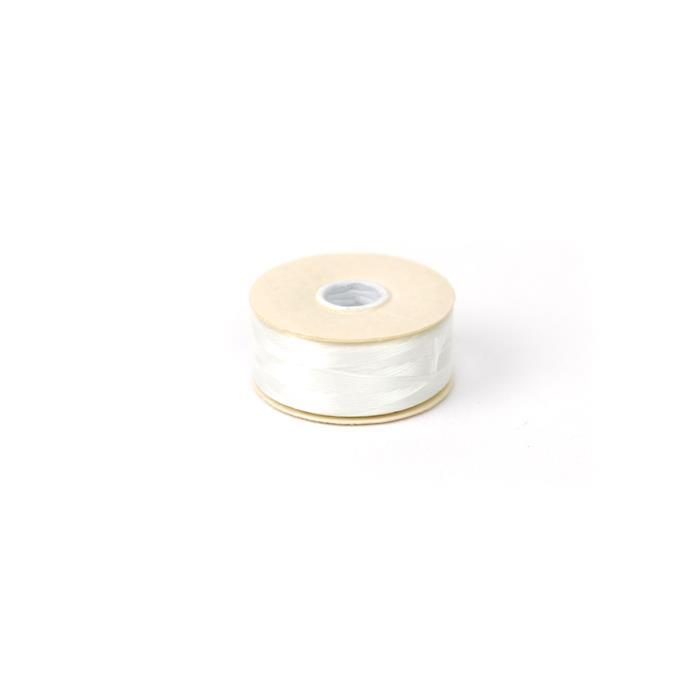 72 yards White Nymo Thread Size D,