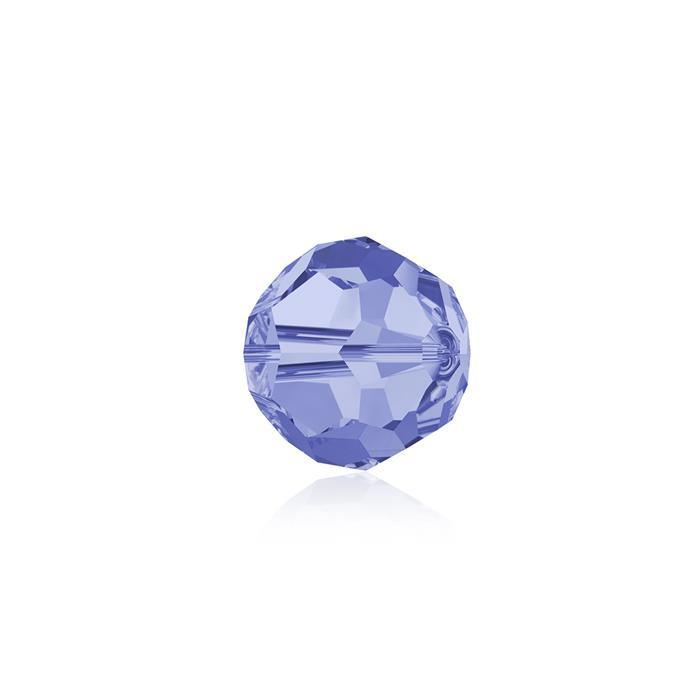 Swarovski Crystal Beads - Pack of 12 Round 5000 - 6mm Light Sapphire