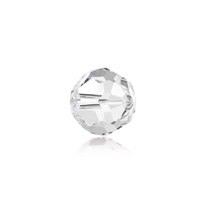 Swarovski Crystal Beads - Pack of 12 Round 5000 - 6mm Crystal Clear