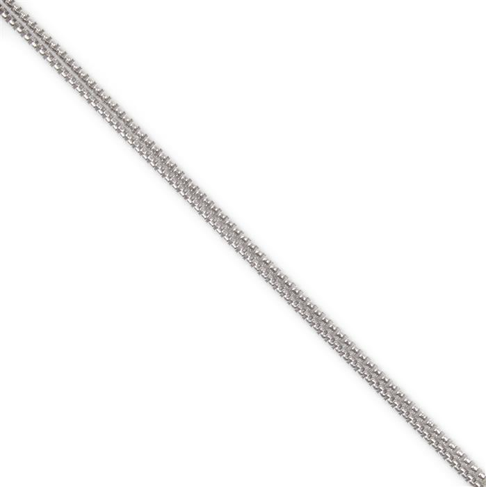 1m 925 Sterling Silver Chain