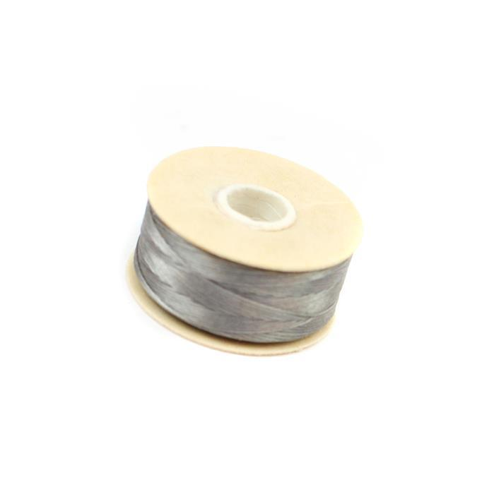 72 yards Grey Nymo Thread Size B