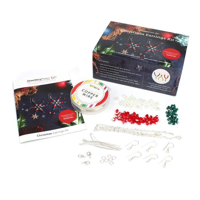 Christmas Earrings Kit (Makes 3 Pairs of Earrings)