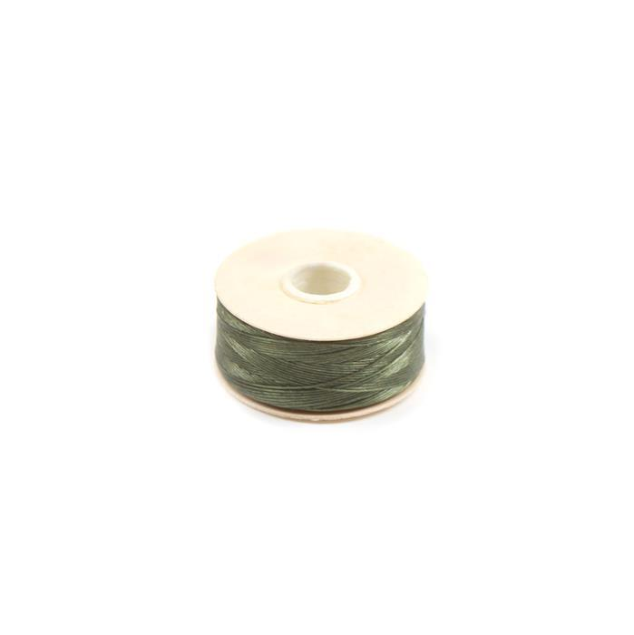72 yards Olive Nymo Thread Size B
